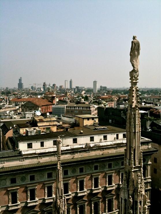 Petit tour sur le toit de la cathédrale - Duomo